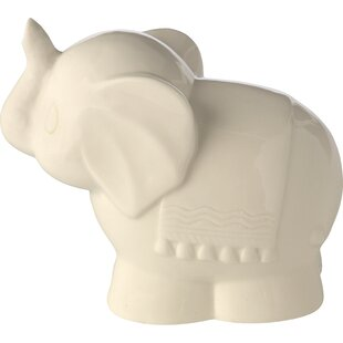 Precious Moments Tuk Elephant Ceramic Battery Operated Night Light