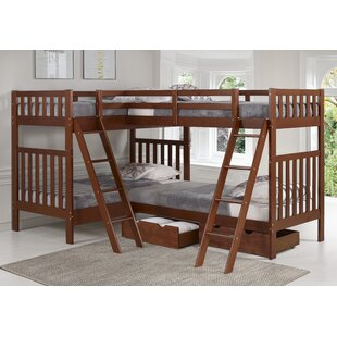 Crescent Twin L-Shaped Bed