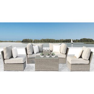 Winsford 6 Piece Sectional Set with Cushions