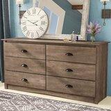 Nelda 6 Drawer Double Dresser