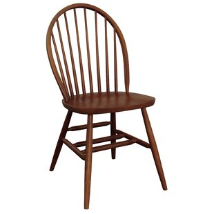Bonneau Solid Wood Dining Chair Harriet Bee
