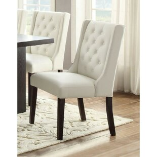 Rudnick Royal Upholstered Dining Chair (Set of 2) Charlton Home
