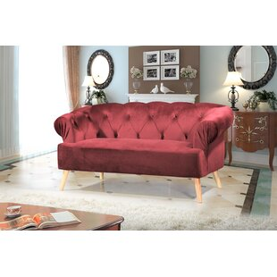 Everson Chesterfield Loveseat