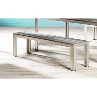 Lilli Aluminium Bench By Kampen Living