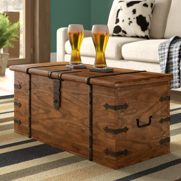 Three Posts Balic Thakat Coffee Table Trunk Reviews Wayfair Co Uk