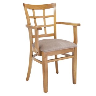 Harner Solid Wood Upholstered Dining Chair August Grove