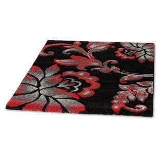 Picasso Red Area Rug by Rugstack