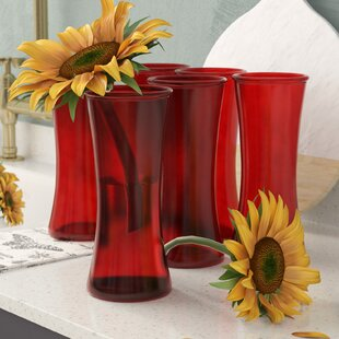 Hensley Glass Table Vase (Set of 6)