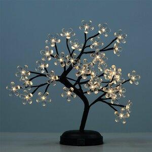 LED 36 Light Crystal Flower LED Bonsai Tree