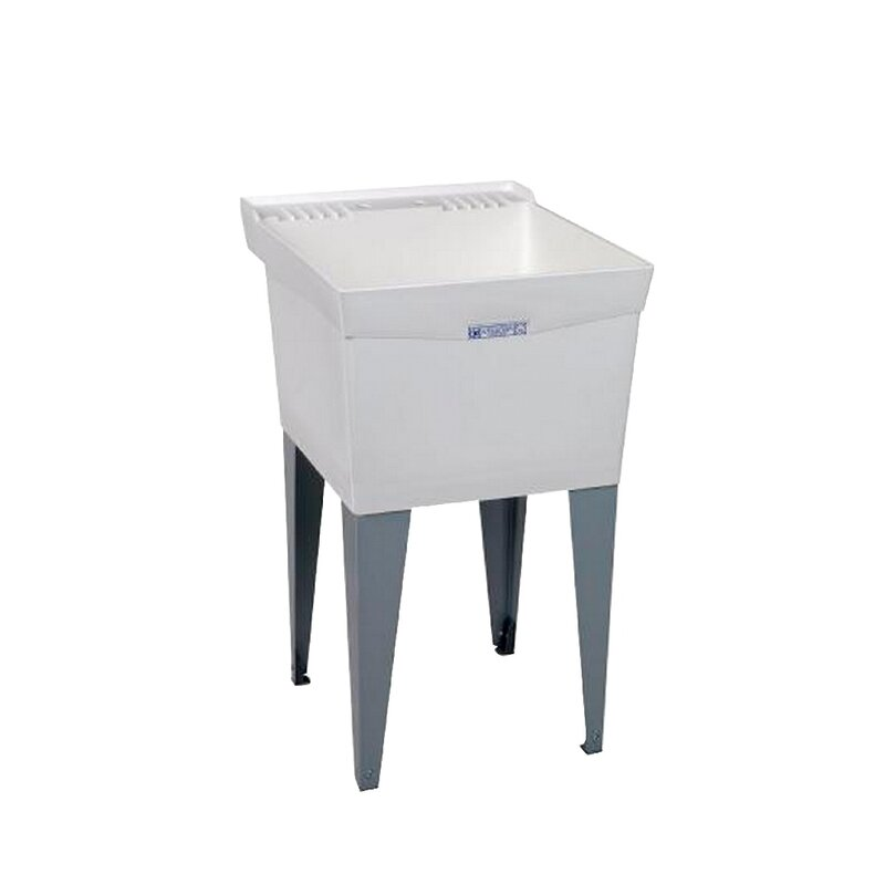 E L Mustee Amp Son Utilatub 20 Quot X 24 Quot Free Standing Laundry