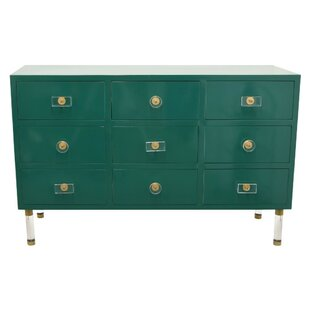 Catanzaro Wooden 9 Drawers Chest by Wrought Studio