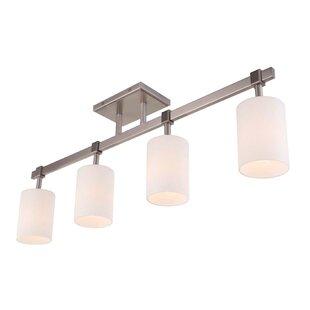 Savings Salina 4-Light Track Lighting By Woodbridge Lighting