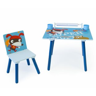 Alison Children's 2 Piece Table And Chair Set By Zoomie Kids
