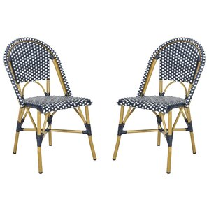 Gentofte Stacking Patio Dining Chair (Set Of 2)