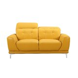Bellefontaine 63.8 Round Arms Loveseat by Ivy Bronx