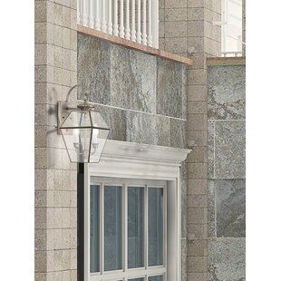 Bargain Olesen 2-Light Outdoor Wall Lantern By Three Posts
