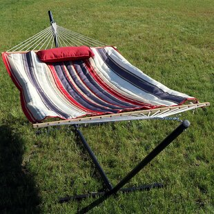 Damaris Rope Hammock with Stand by Freeport Park