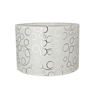 Transitional 16 Suede Drum Lamp Shade