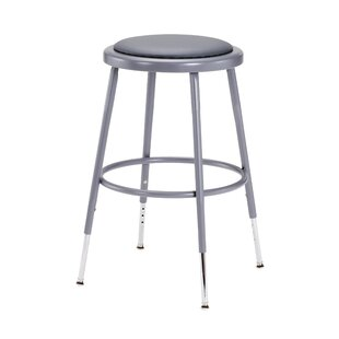 Height Adjustable Stool With Footring by National Public Seating Fresh