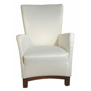 Oak Idea Imports Violet Wing back Chair