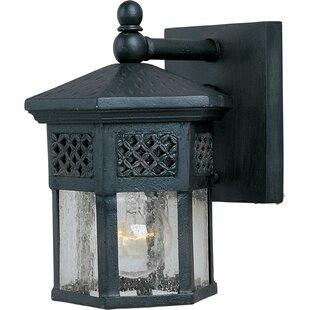 Batterton 1-Light Outdoor Wall Lantern by Astoria Grand Herry Up