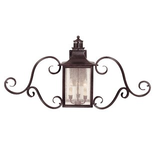 Kennett 3-Light Outdoor Wall lantern
