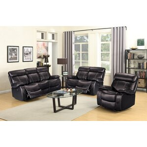 Alvia 3 Piece Living Room Set by Living In S..