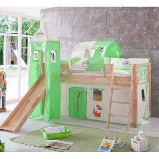 Kootenai European Single Mid Sleeper Bed With Tower By Zoomie Kids