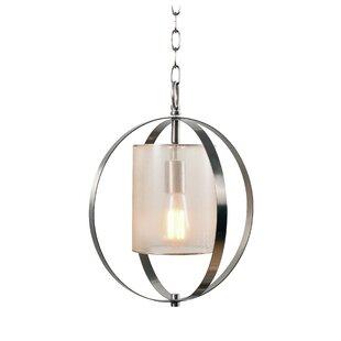 Tham 1-Light Pendant by Orren Ellis