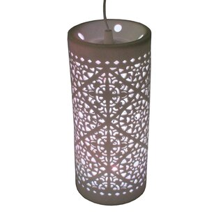 Big Save Chloe Contemporary 1-Light Pendent By Bungalow Rose