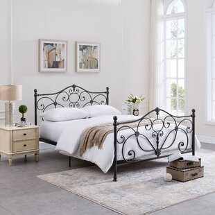Rutland King Panel Bed by Alcott Hill