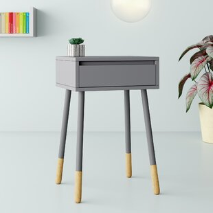 Rhone End Table with Storage by Hashtag Home