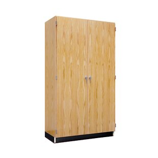 Hinged 2 Door Storage Cabinet by Diversified Woodcrafts