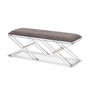 Interlude Asher Upholstered Bench