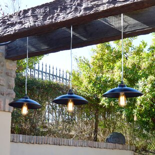 Cho 1-Light Outdoor Pendant