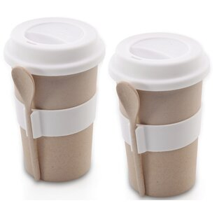 CookNCo Melamine Travel Mug Set (Set of 2)