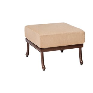 Woodard Casa Ottoman with Cushion