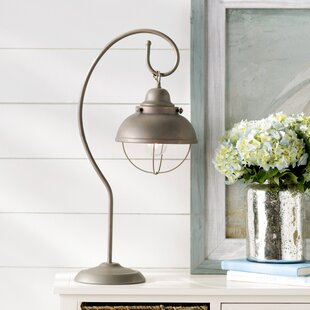 Coastal shutter table lamp wayfair spinnaker 25 arched table lamp aloadofball Image collections