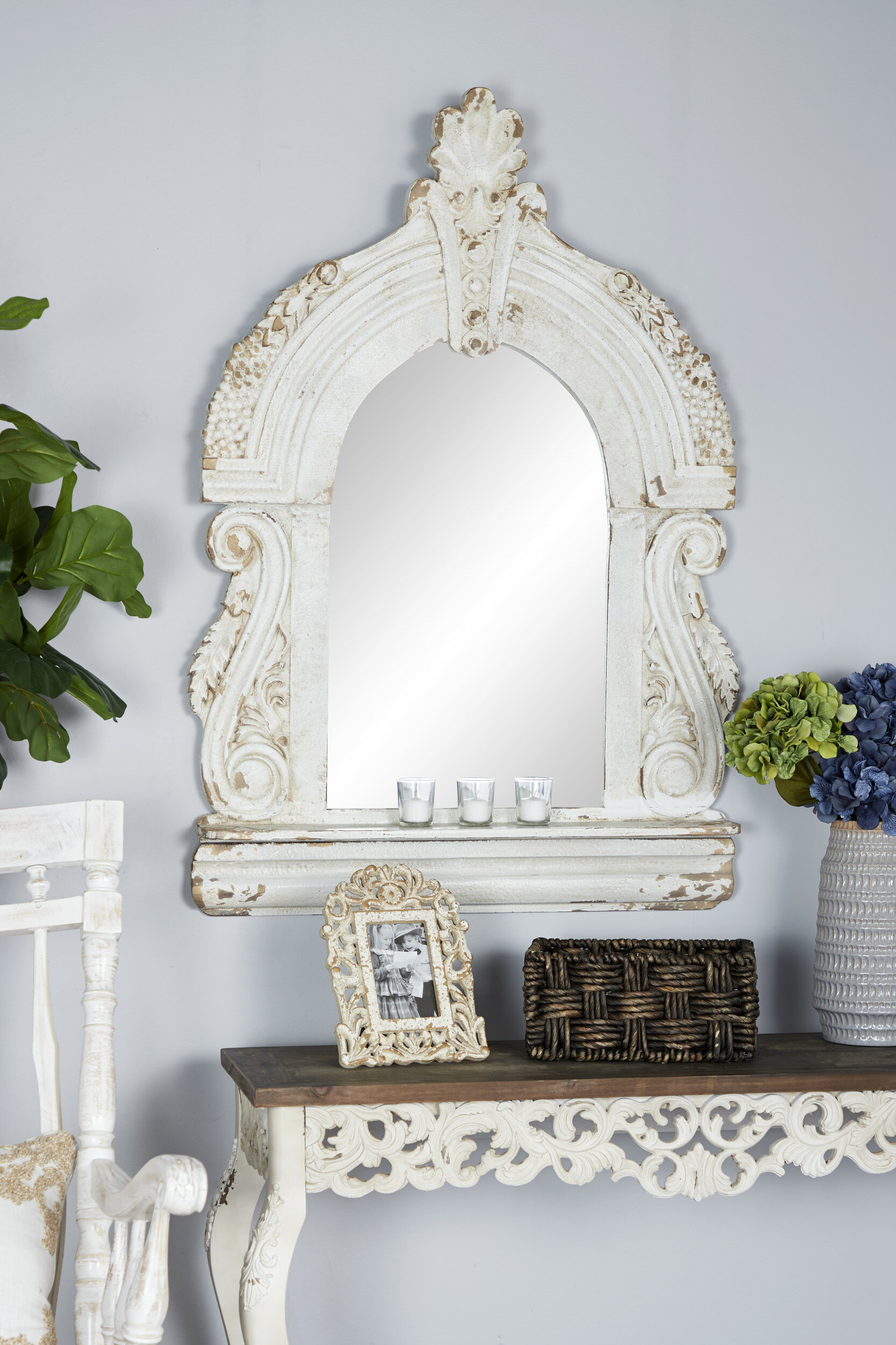 Zachary Cathedral Accent Mirror