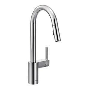Align Single Handle Kitchen Faucet with Swivel Spout