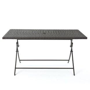 Orren Ellis Belynda Foldable Dining Table