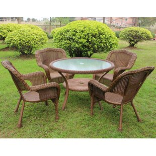 Ovalle 5 Piece Dining Set