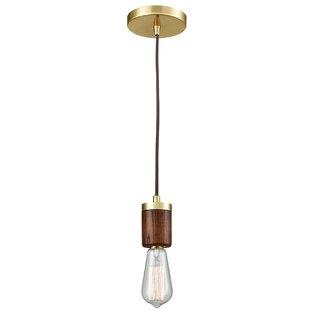 Stowe 1-Light Bulb Pendant..