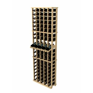 Rustic Pine 100 Bottle Wall Mounted Wine Rack by..