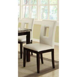 Red Barrel Studio Massucci Solid Wood Dining Chair (Set of 2)