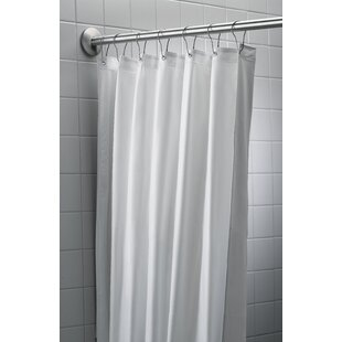 Antimicrobial Nylon/Vinyl Single Shower Curtain