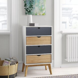 Tuttle 4Drawer Chest By Mikado Living