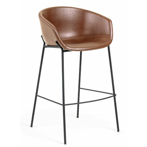 74 cm Barstuhl Wethersfield Brayden Studio Polsterfarbe: Rustikal | Küche und Esszimmer > Bar-Möbel > Barhocker | Brayden Studio