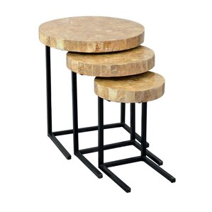 Dalvey 3 Piece Nesting Tables by Beachcrest ..