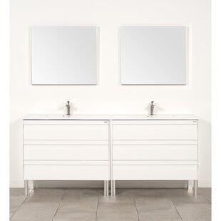 Nixa 80 Double Bathroom Vanity Set By Orren Ellis
